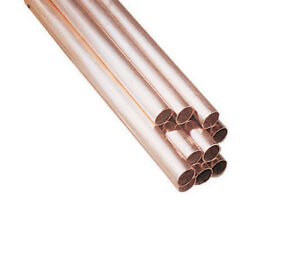 Reading Copper Water Tube Type L 1 2 X 10 0 040 Wall T
