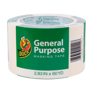 Duck Masking Tape 2 83 X 60 1 Yard Pack Of 8