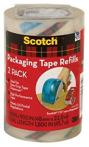 3m Dp 1000 rr 2 Refill Packing Tape For 3m Dp 1000 Rolls 2 Count