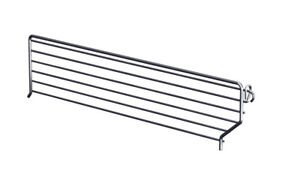 Lozier Wire Bin Divider 3 In X 16 In Chrome Finish Pack Of 20