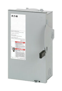 Eaton Safety Switch Fusible 30 Amp 240 V Boxed Pack 1