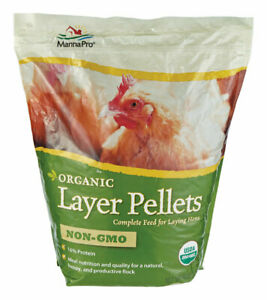 Manna Pro Layer Pellets Poultry Feed Corn 10 Lb