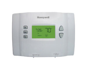 Honeywell Programmable Thermostat Set Point 7 Day Heat Cool 24 V