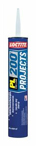 Loctite Construction Adhesive Voc all Construction Materials Tube 28 Oz pk 12