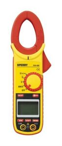 Sperry Clamp on Meter 600a Yellow And Black Lcd