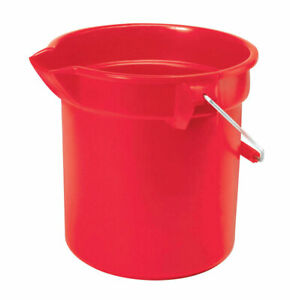 Rubbermaid Bucket 10 Qt Pack Of 4