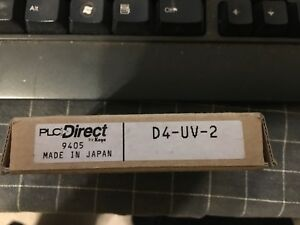 Plc Direct D4 uv 2 Automation Direct 405 Memory Module Eprom