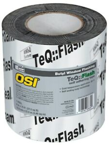 Osi Sealants 1532159 6 X 75 Black Winteq Teq Flash Butyl Tape