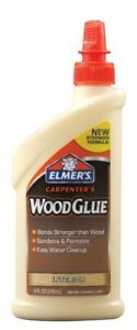 Elmers Carpenter s Wood Glue Bottle 8 Oz Pack Of 12