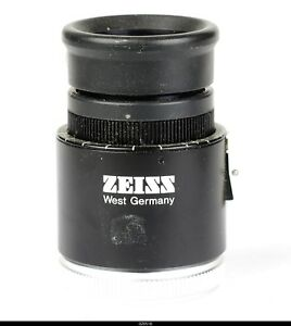 Zeiss West Microscope Eyepieces 10x 22b