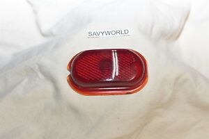 Unknown Old Or Antique Original Red Glass Lens 1920 S 1930 S 1940 S Ford Chevy