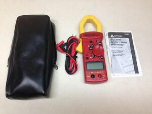 Amprobe Clamp On Digital Clamp Meter 1 5 8 Jaw Capacity Cat Iii 300v Ac68c
