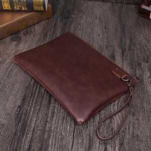 Paper Folder Document Leather File Bag Storage Luxury Business Design Holder New