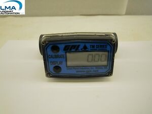 Gpi Tm100 Digital Water Meter