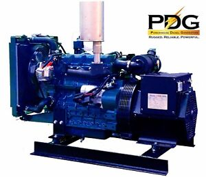 18 Kw Diesel Generator Kubota Emergency Standby Genset 18 Kw Continuous Rating
