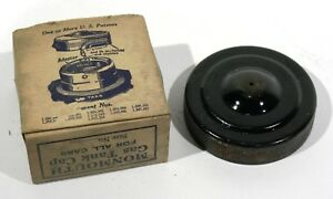Antique Monmouth Car Gas Tank Cap Size 2 1 2 it s Never Lost In Box Nib