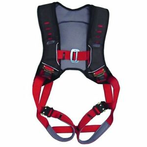 Guardian Fall Protection Premium Edge Safety Vest Harness side D rings m x Large