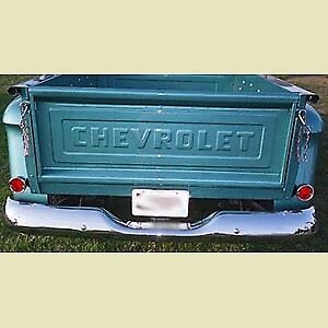 Chevrolet Chevy Stepside Pickup Truck Tailgate With Raised Letter 1954 1972