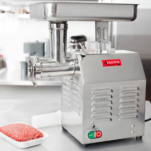 Avantco Mg12 12 1hp Countertop Meat Grinder Electric Commercial Restaurant New