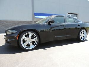 2005 2018 Dodge Charger Us Mags Hustler 22 22x9 22x11 Chrome Wheels Rims Tires
