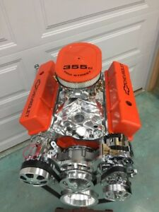 350 Sbc Crate Motor 450hp Sbc With A C Roler Turn Key 700r4 Trans Included Look