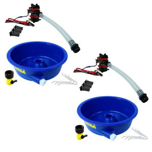 Blue Bowl Concentrator Kit Dual Pack With Pump Battery Clips Leg Levelers