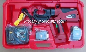 Burndy Pat750li Hydraulic Battery Operated Crimper Patriot Crimping Tool New