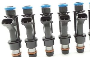 lifetime upgraded Genuine Delphi Fuel Injectors For Gmc Chevy Buick Hummer 5pc