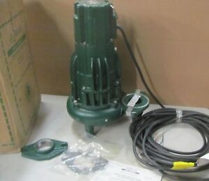 Zoeller 282 0067 Non Auto 208 Vol 3 Phase Sewer Pump With 50 Cord