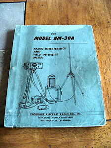 Stoddard Eaton Ailtech Nm 30a Radio Interference And Field Intensity Manual