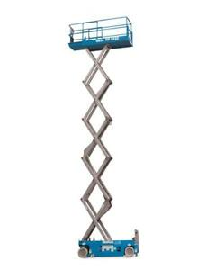 Genie gs 3232 32 Ft Electric Slab Scissor Lift