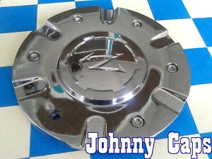 Zinik Wheels 35 Chrome Center Caps Z 9 cap z090 Custom Wheel Cen