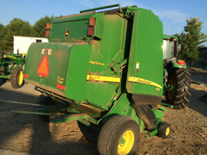 2013 John Deere 854 Silage Special Round Balers