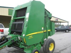 2017 John Deere 469 Silage Special Round Balers