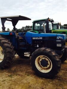 1996 New Holland 7740s Utility Tractors