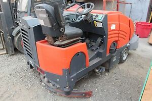 Floor Sweeper Ride On Powerboss 5550 dsl Kobota Diesel