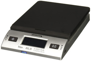 Accuteck S 86 Lb All in one Silver Digital Shipping Postal Scale With Adapter w