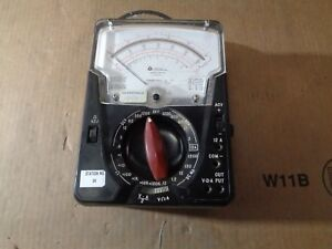 Triplett 630 na Type 4 Suspension Multimeter Analog Test Vom Meter Volt Vintage