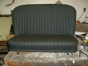Hot Rod Rat Rod 32 Ford Bomber Bench Seat With Seat Tracks
