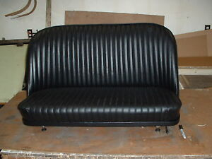 Hot Rod Rat Rod31 32 Leather Bomber Bench Seat With Tracks