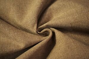 Vintage Beige Tan Haze Tweed Automotive Seat Cover Fabric Upholstery Auto 55 W