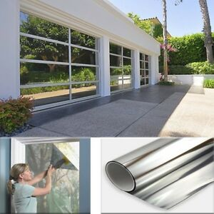 3ft X6ft One Way Mirror Privacy Reflection Window Tint Film Save Energy 35 Vlt