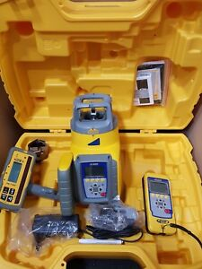 Spectra Precision Gl622 Grade Laser With Rc602 Remote And Hl750 Receiver New
