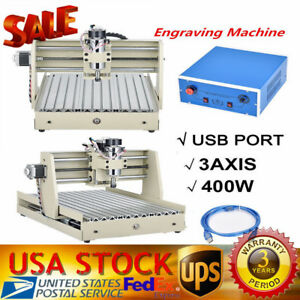 3axis Usb Mini Cnc Router Kit 3040 Engraver Drill Mill Machine Diy 3d Cutter Usa