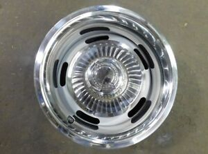 Chevy Ralley Rim 14x8 New With Trim Ring And Center Cap