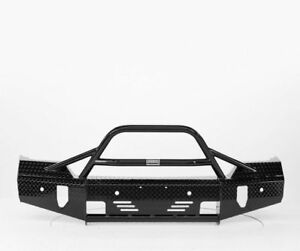 Ranch Hand Bsc16hbl1 Summit Series Blk Front Bumper For 2016 2019 Chevy 1500
