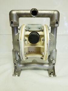 Versa matic E1 Stainless Steel 1 Air Operated Double Diaphragm Pump