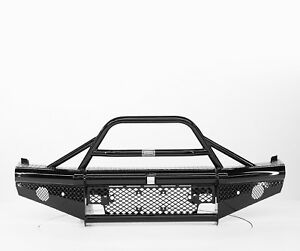 Ranch Hand Btc151blr Legend Bullnose Frnt Bumper For 15 19 Chevy 2500hd 3500 Hd