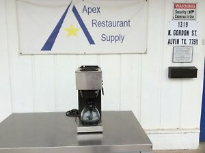 Bunn Vpr 12 cup Commercial Coffee Brewer 2 Warmers carafe 3126