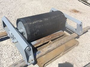36 Tail Roller W Take up 36 Inch Conveyor Tail Roller